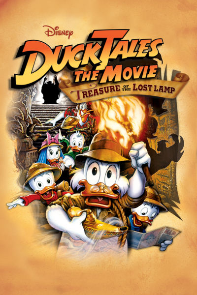 DFPP 134 – DuckTales: The Movie – Treasure of the Lost Lamp