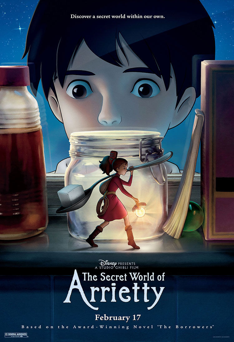 DFPP 60 – The Secret World of Arrietty